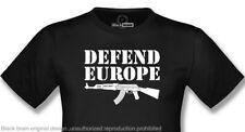 T-SHIRT DEFEND EUROPE  | BLACK | S,M,L,XL,XXL