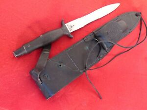 "Gerber USA 12"" overall MARK II Fixed Blade Dagger boot Knife & Sheath"