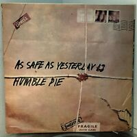 HUMBLE PIE As Safe As Yesterday Is LP 1969 Immediate ORIG US PRESS VG / VG+