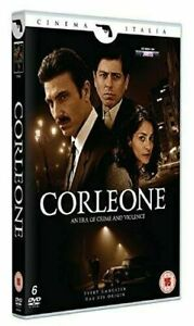 Corleone: The Complete Series Dvd Daniele Liotti New & Factory Sealed (2017)