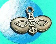Charm L24 Greek Mask Sterling Silver Vintage Bracelet