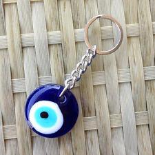 Turkey Lucky Blue Evil Eye Key Chain Ring Holder For Car Keyring Purse Handbag