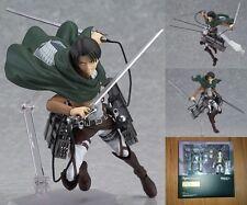 Attack on Titan Levi Shingeki no Kyojin Stylish 213 figma 6'' Action PVC Figure