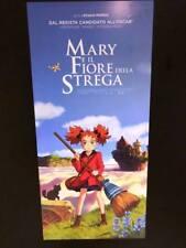 Mary e il Fiore della Strega (2018) Locandina cm 33x70 Prima Edizione ITA