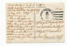15 - WWII FREE MAIL COLOR POSTCARD APO 85, Dated May 12 1945