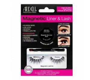 ARDELL Magnetic Liner & Lash Kit False Eyelashes Wispies eye extensions REUSABLE