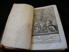 Bible Prophetia isaias ieremias baruch ezechiel daniel 1680 Guillimin & Beujolin