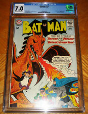 BATMAN #155 F/VF CGC 7.0 1st SILVER AGE APPEARANCE OF PENGUIN, VICKI VALE NO RES