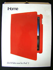 iHome Slim Fit Folio Case for iPad 2 - Red