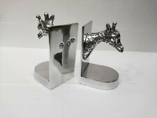 Decorative Bookend Pair with Giraffe Head