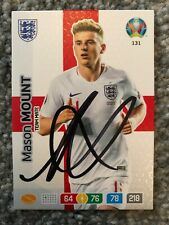 Signed Mason Mount Panini Adrenalyn XL Euro 2020 England Team Mate Card