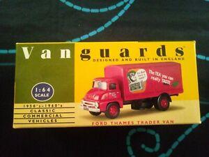 Lledo Vanguards VA6002 Ford Thames Trader Van Brooke Bond PG Tips 1/64
