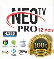 NEO TV PRO 2 ( SMART TV, M3U, ANDROÏD) NEOTV PRO 2