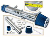 For 11-14 Ford Mustang St Base 3.7 3.7L V6 Black Piping Cold Air Intake CAI Kit