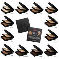 Sleek Maquillaje Base Duo Kit 2 en 1 Base & Polvo fraguado Compacto 18g