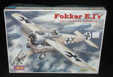 ICM Model Kit Fokker E.IV German Fighter WWI 1:72 Scale New Knights Of The Air