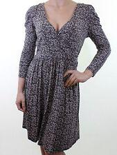 Warehouse Viscose Long Sleeve Dresses Midi