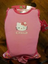 Hello Kitty Swim Trainer Swimsuit S/M 20-33 lbs 20 inch Chest New pink