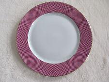 Block Spal Portugal - Sunset- Design on Raspberry Rim- Salad Plate(s)- 8 Avail