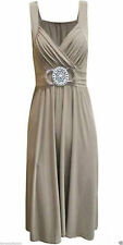 Polyester Party Patternless Maxi Dresses for Women