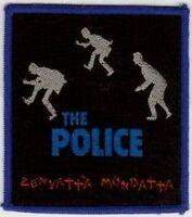 THE POLICE:  'ZENYATTA MONDATTA'  vintage sew on  patch