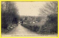 cpa 37 - VILLEDÔMER (Indre et Loire) Vue prise de la ROUTE de NEUILLÉ le LIERRE