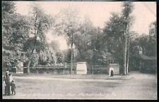 MECHANICSBURG PA Williams Grove Park View Antique B&W Postcard Early Old Vtg PC