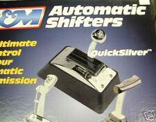 B&M QUICKSILVER SHIFTER FITS T-350/400/C-4/C-6/TF 80683 CHEVY FORD MOPAR