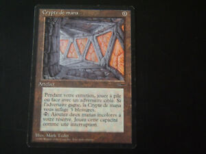 Magic-mtg: Mana crypt, french, promo book