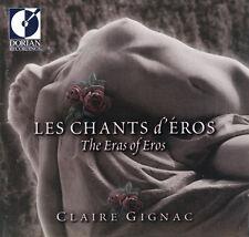Claire Gignac - Chants D'eros [New CD]
