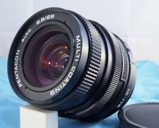 fits SAMSUNG NX (mirrorless) SHARP Pentacon 29mm f2.8 MF PRIME LENS!