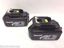 2 GENUINE Makita BL1830 NEW 18V 18 Volt LXT Lithium-Ion 3.0 Ah Battery