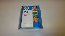 Genuine HP 23 Tri Color Ink Cartridge New Sealed~Expired  August 2008
