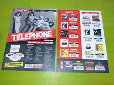 TELEPHONE - BEST OF 3CD !RARE FRENCH PRESS/KIT/PLAN MEDIA
