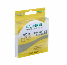 Balzer Iron line spin chatreuse New OVP 150m 0,10mm 0,13mm 0,16mm 0,19mm 0,22mm