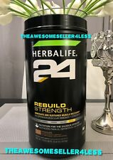 NEW Herbalife 24 Rebuild Strength MUSCLE RECOVERY PROTEIN Chocolate 35.6 Oz
