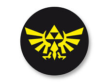 "Pin Button Badge Ø25mm 1"" The Legend of Zelda Triforce Hyrule Game Nintendo"
