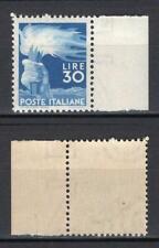 #918 - Repubblica - 30 lire Democratica, 1947 - Nuovo (** MNH)