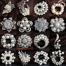 Crystal Flowers & Plants Fashion Brooches