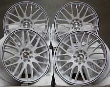 "15"" WHITE MOTION ALLOY WHEELS FITS 4x100 BMW FIAT HONDA HYUNDAI KIA MODELS"