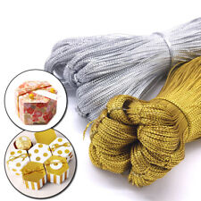 100m Rope Tag Packaging Gift Ribbons Cord Thread Wedding Party Accessories