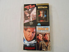 4HarrisonFordMoviesVHSTapes:AirForceOne/Force10FromNavarone/TheFugitive/Witness