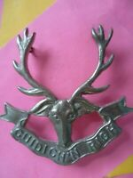 Seaforth Highlanders Cap Badge 4 Lugs CAST White Metal