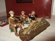 Britains 41148 WW1 conjunto de ametralladora Browning cañonera & 3 hombre desprendimiento de Estados Unidos