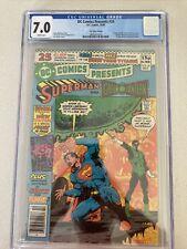 DC Comics Presents 26 CGC 7.0 Cyborg Raven Starfire