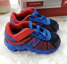 Nib New Balance Infant Toddler 890 Running Shoes Red Blue