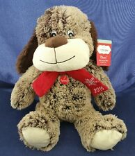 "Petsmart 2016 Pet Holiday Toy ""Chance the Dog"" Plush Squeaks"