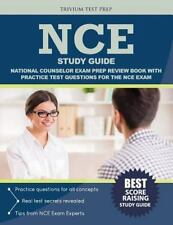 NCE Study Guide : National Counselor Exam Prep Review Book with Practice Test...