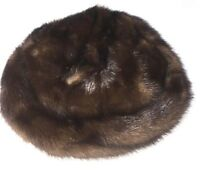 Gladys & Belle New York Womens Vintage Fur Cap Mesh Dressy Hat RARE Wow