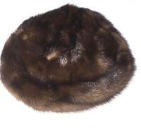 Gladys & Belle New York Womens Vintage Fur Cap Mesh Dressy Hat RARE Wow